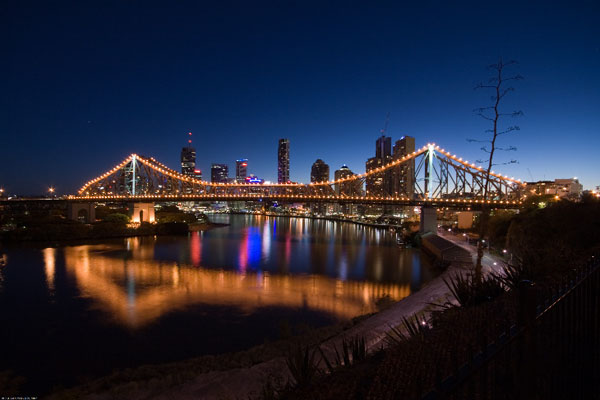 Story Bridge and City