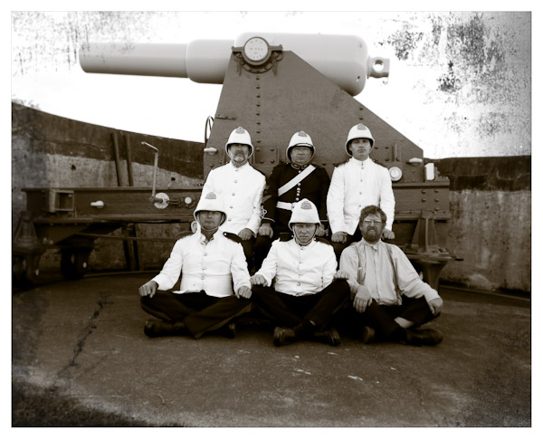 Colonial Gunnery Crew
