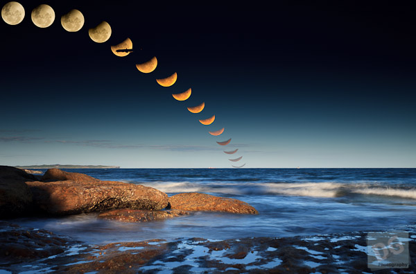 The 2010 Summer Solstace Lunar Eclipse