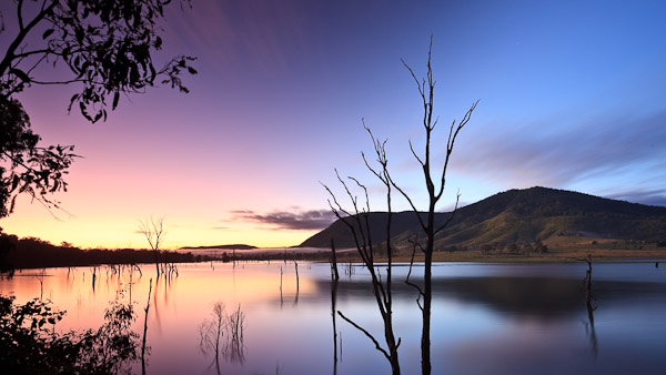 Lake Somerset Dawn
